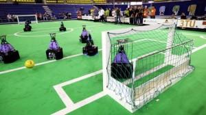 Nederland weer wereldkampioen robotvoetbal